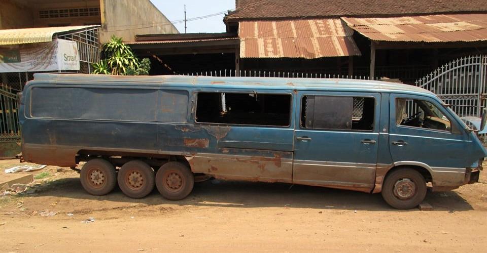 Cambodian car hunting